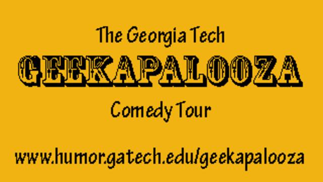 Geekapalooza - Sweetwater 420 Comedy Tent - 2015-04-19T19:00:00+00:00