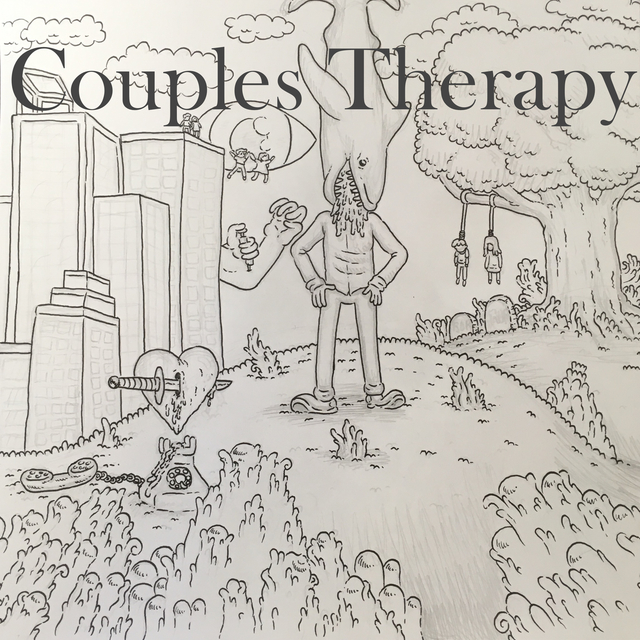 Couples therapy album cover