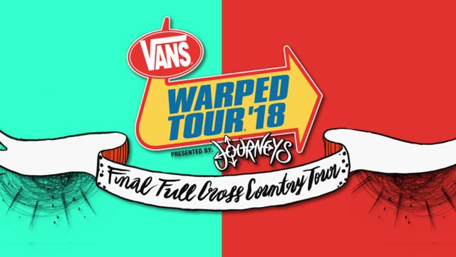 Vans Warped Tour - Coral Sky Amphitheatre - 2018-08-05T16:00:00+00:00